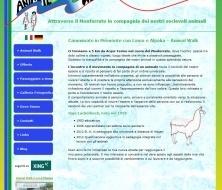 Sito Responsive per Camminate con Lama e Alpaka In Monferrato