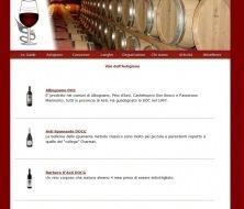 Vini del Piemonte  - Sito con versione mobile